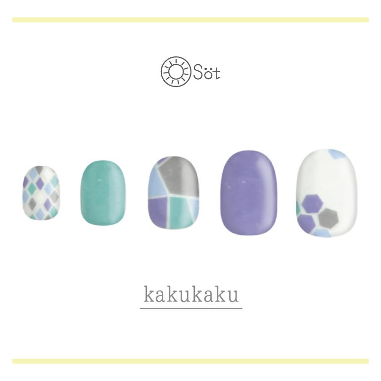 Osot/kakukaku ネイルチップイメージ