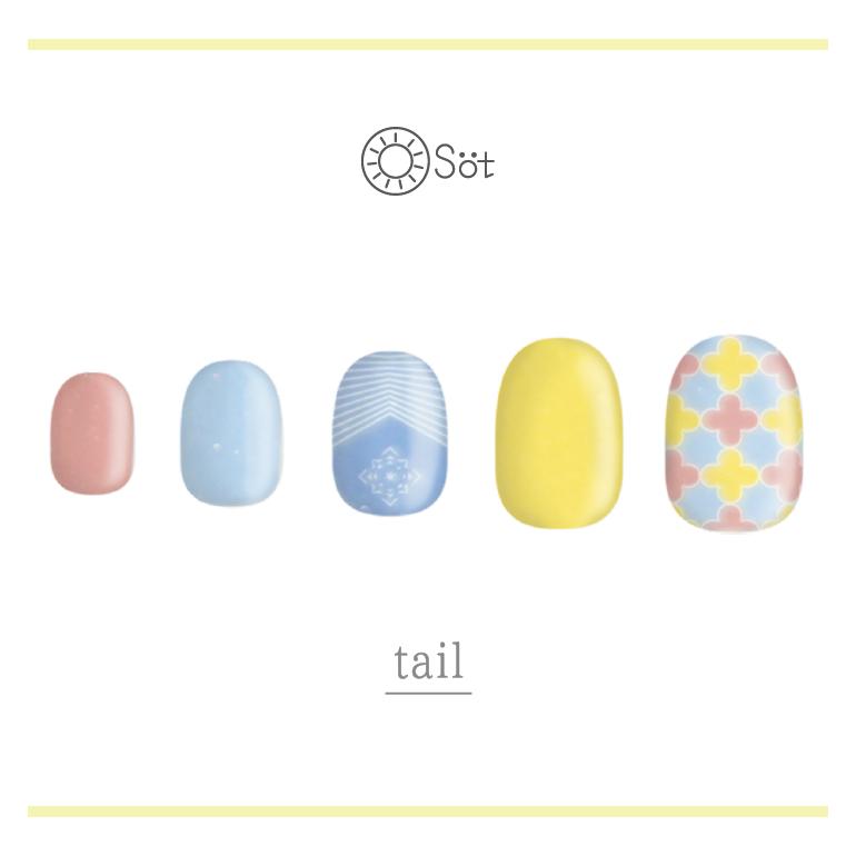 Osot/tail ネイルチップイメージ