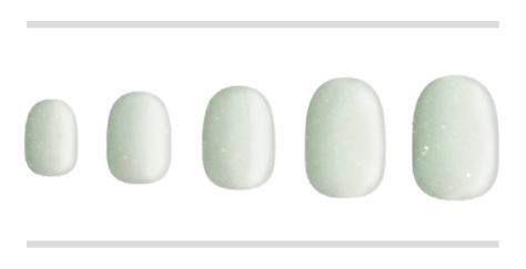 ホワイト×グリーン(BASIC×DOREHAL)gradation