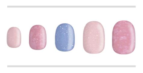 マーメイドピンク(BASIC×DOREHAL)3colors