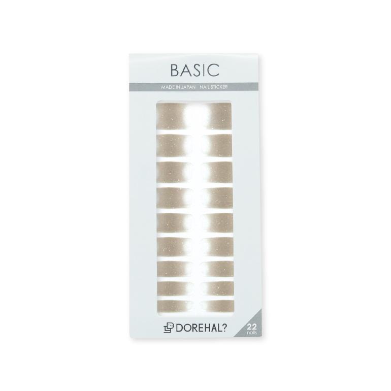 BASIC/ベージュ×クリア パッケージ