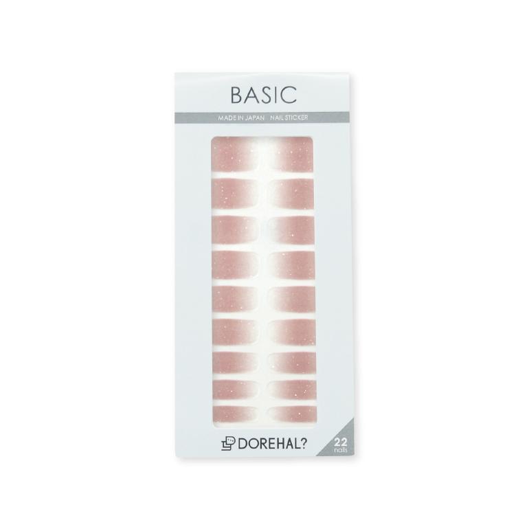 BASIC/ピンクベージュ×クリア パッケージ