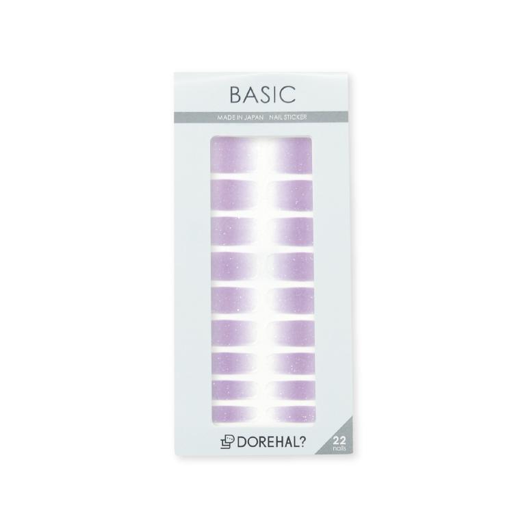 BASIC/ラベンダー×クリア パッケージ