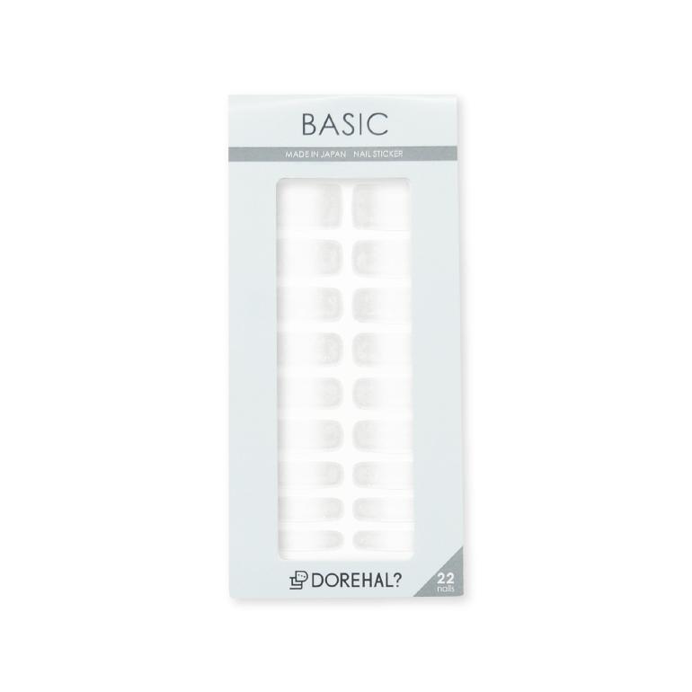 BASIC/ホワイト×クリア パッケージ