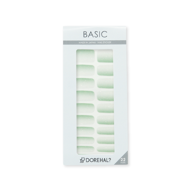 BASIC/ホワイト×グリーン パッケージ
